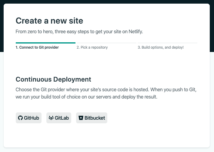 Netlify choose your GitHub repository to deploy